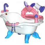 игрушки для девочек Набор Полесье для купания кукол №3 с аксессуарами (в пакете)
