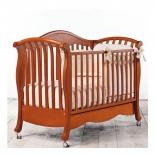 детская кроватка Bambolina Divina 125x65 Вишня