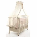 детская кроватка Bambolina Divina 125x65 Слоновая Кость