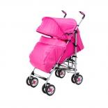 коляска Liko Baby BT109 City Style, розовая