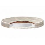 матрас для детской кроватки Nuovita Nubi 75x75x10 см (круглый)