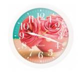 часы интерьерные Vigor Д-29 Розовые розы (круглые)