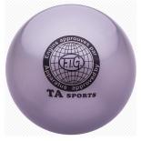 мяч гимнастический TA-Sport RGB-101, 15 см, серый