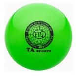 мяч гимнастический TA-Sport RGB-101, 19 см, green