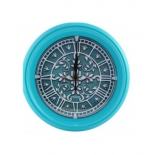 часы интерьерные Vigor Д-24 Лепнина, turquoise