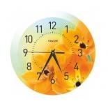 часы интерьерные Vigor Д-29 Оранжевое настроение (круглые)