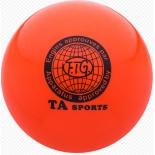мяч гимнастический TA-Sport RGB-101, 19 см, orange