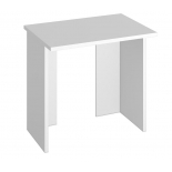 стол компьютерный Мэрдэс СКЛ-Прям80 БЕ белый