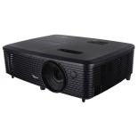 Мультимедиа-проектор Optoma S340+, черный, купить за 20 810руб.