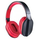 гарнитура проводная для телефона Perfeo Dual, черная/красная