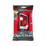 чистящая принадлежность для ноутбука салфетки OptiClean 4607091481594, влажные для ЖК-экранов, 50 штук