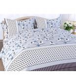 комплект постельного белья ЭГО (1,5-спальный) ЭБ-2013-01, бязь Гамма нав. 70x70*2