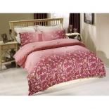 комплект постельного белья Tete-a-Tete Т-0040-01 Летиция, семейный 2-сп, премиум-сатин, 50х70*2 и 70х70*2