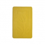 коврик для ванной Kamalak Tekstil 60x100 см, УКВ-1012 желтый