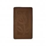 коврик для ванной Kamalak Tekstil 60x100 см, УКВ-1010 brown