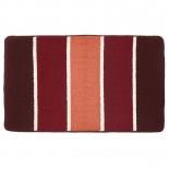 коврик для ванной Kamalak Tekstil 60x100 см, УКВ-1072 бордовый