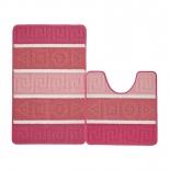 коврик для ванной Kamalak Tekstil УКВ-1092, розовый