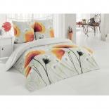комплект постельного белья Tete-a-Tete Classic, нав. 50x70*2 и 70x70*2, бязь, евро, К-8074, Акварель