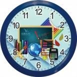 часы интерьерные Вега Школа карандаши, настенные