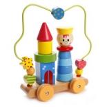 игрушка-сортер Лабиринт-пирамидка Mapacha Мальчик 76730