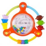 игрушка для малыша Погремушка-тренажер Жирафики Лабиринт