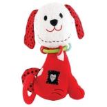 игрушки для малышей Прорезыватель-погремушка Жирафики Щенок Макс 939342