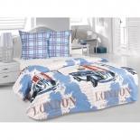 комплект постельного белья Tete-a-Tete Classic бязь, евро, нав. 70х70*2, к-8087, Лондон