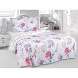 комплект постельного белья Tete-a-Tete Classic бязь, семейный, нав. 70х70*2, к-8086, Париж