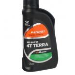 масло моторное для садовой техники Patriot G-Motion HD SAE 30 4Т TERRA (1 л)