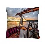 подушка декоративная Волшебная ночь (40x40см) Яхта