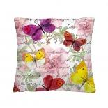 подушка декоративная Волшебная ночь (40x40см) Пёстрые бабочки