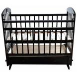 детская кроватка Briciola 8, темная