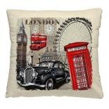 подушка декоративная Волшебная ночь (40x40см) Лондон