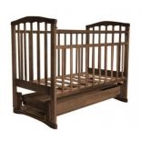 детская кроватка Агат Золушка-6, орех