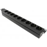 розетка сетевая NT SOC 230.16A-9S-C20 B (Блок силовых розеток), черный