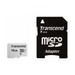 карта памяти MicroSDHC Transcend TS16GUSD300S-A 16Gb