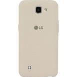 чехол для смартфона LG для LG K130E K4 LTE, бежевый