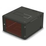 серверный аксессуар NT WALLBOX PRO 12-66 B (шкаф телекоммуникационный, 12U, 19'', настенный), чёрный