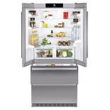 холодильник Liebherr CBNes 6256, серебристый