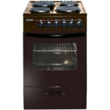 плита Лысьва ЭП 411 МС ,коричневая, без крышки