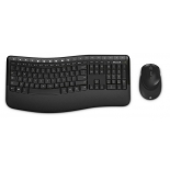 комплект Microsoft Wireless Comfort Desktop 5050 with AES (USB - радиоканал), чёрный