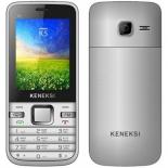 сотовый телефон Keneksi K5, серебристый