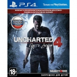 игра для PS4 Uncharted 4. Путь вора, Standard Plus