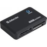 устройство для чтения карт памяти Defender Optimus USB 2.0, 5 слотов