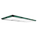 светильник потолочный Weekend Flat II (300x120x7,5 см) зеленый
