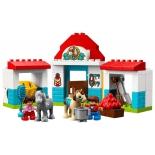 конструктор LEGO Duplo 10868 Конюшня на ферме (для девочки)