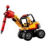 конструктор LEGO CITY 60185 Трактор для горных работ (для мальчика)