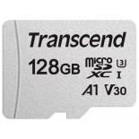 карта памяти Transcend TS128GUSD300S-A (с адаптером)