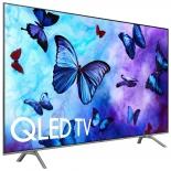 телевизор Samsung QE49Q6FNAU, серебристый