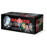 настольная игра Набор подарочный Бэмби Мафия с масками (8100)